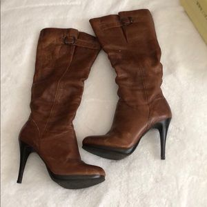 Cathy Jean size 9 leather boots